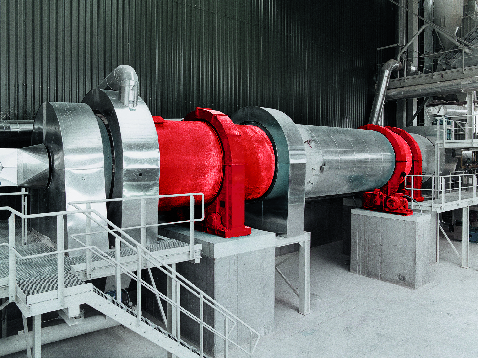 Wide range of calcining processes